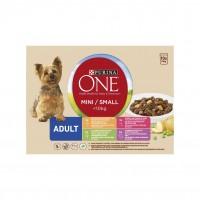 Sachet fraîcheur pour chien - PURINA ONE Mini < 10 kg Adult - Effilés en sauce Mini < 10 kg Adult - Effilés en sauce