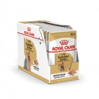 Sachet fraîcheur pour chien - ROYAL CANIN Breed Nutrition Yorkshire Terrier adult - Lot de 12 x 85 g