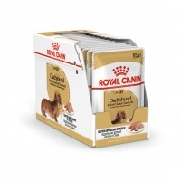 Sachet fraîcheur pour chien - Royal Canin Teckel (Dachshund) - Pâtée pour chien Teckel adult - Lot 12 x 85 g