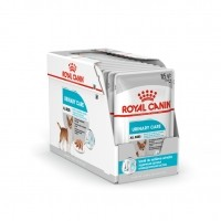 Sachet fraîcheur pour chien - ROYAL CANIN Care Nutrition Urinary Care Adulte - Lot 12 x 85g