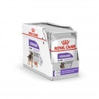 Sachet fraîcheur pour chien - Royal Canin Sterilised - Pâtée pour chien Sterilised Adulte - Lot 12 x 85g