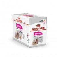 Sachet fraîcheur pour chien - Royal Canin Exigent - Pâtée pour chien Exigent Adulte - Lot 12 x 85g