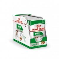 Sachet fraîcheur pour chien - Royal Canin Mini Adult - Pâtée pour chien Mini Adult - Lot 12 x 85g