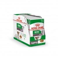 Sachet fraîcheur pour chien - Royal Canin Mini Ageing 12 Mini Ageing 12+ - Lot 12 x 85g