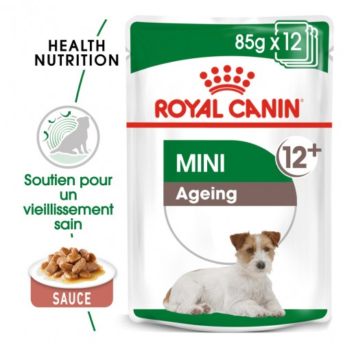 Boutique senior - Royal Canin Mini Ageing 12 - Pâtée pour chien pour chiens