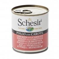 Pâtée en boîte pour chien - Schesir Pâtée en gelée Adult - Lot 32 x 285 g