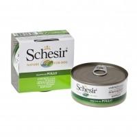 Pâtée en boîte pour chien - Schesir Pâtée en gelée Adult - Lot 10 x 150g