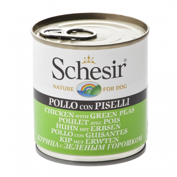 Alimentation pour chien - Schesir Pâtée en gelée Adult - Lot 16 x 285 g pour chiens