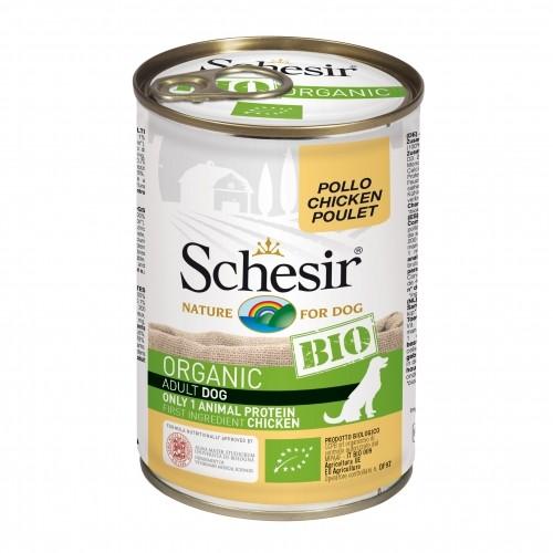 Alimentation pour chien - Schesir BIO Adult - Lot 6 x 400 g pour chiens
