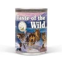 Pâtée en boîte pour chien - TASTE OF THE WILD Wetlands