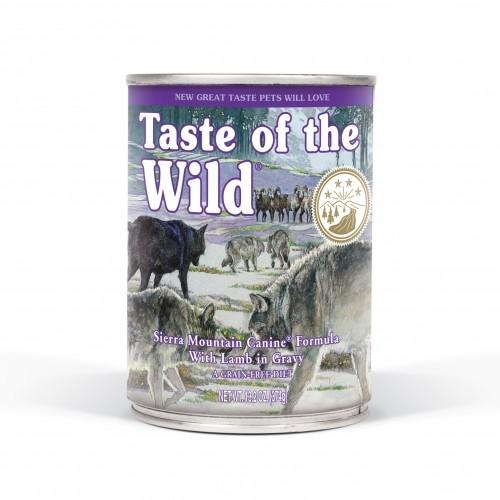 Alimentation pour chien - Taste Of The Wild Sierra Mountain pour chiens