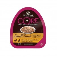 Pâtée en barquette  - Wellness CORE Small Breed Savoury Medleys