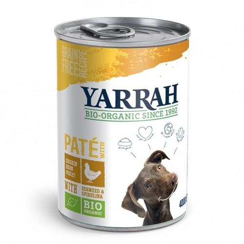 Alimentation pour chien - Yarrah Pâtée Bio en boîte - 400 g pour chiens