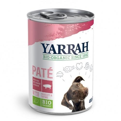 Alimentation pour chien - Yarrah Pâtée Grain Free en boîte - 400 g pour chiens