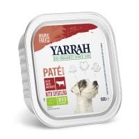 Pâtée en barquette pour chien - Yarrah Pâtée biologique au poulet - 12 x 150 g Pâtée biologique  - 12 x 150 g