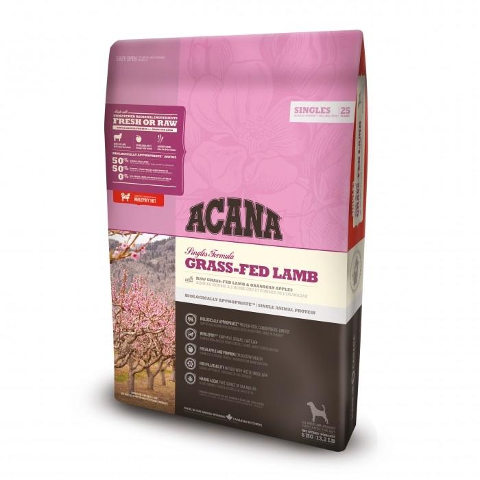 Alimentation pour chien - Acana Singles - Grass-Fed Lamb  pour chiens