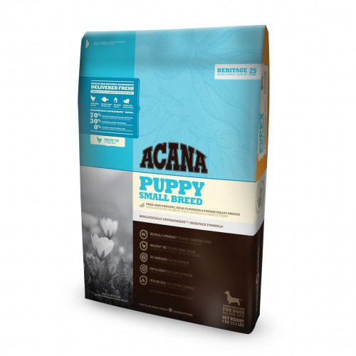 Alimentation pour chien - Acana Heritage - Puppy Small Breed pour chiens