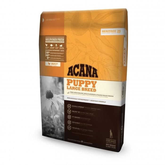 Alimentation pour chien - Acana Heritage - Puppy Large Breed pour chiens