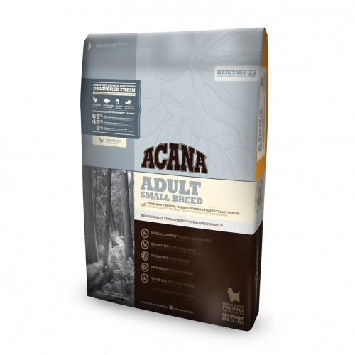 Alimentation pour chien - Acana Heritage - Adult Small Breed pour chiens