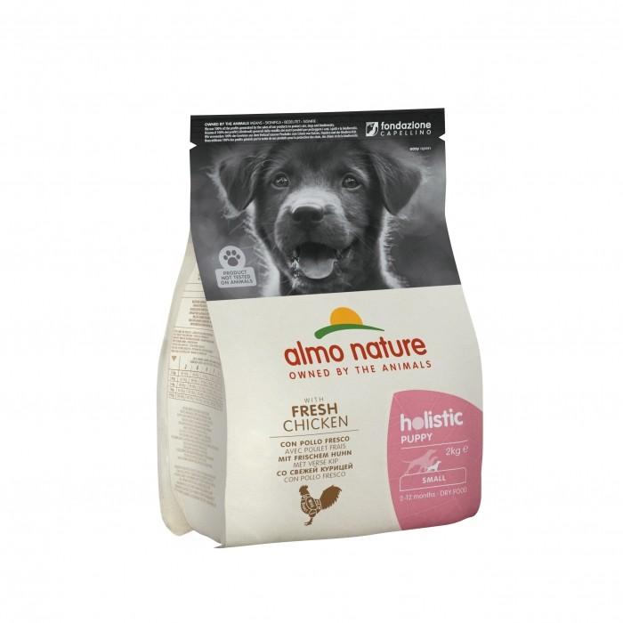 Alimentation pour chien - Almo Nature Holistic Small Puppy pour chiens