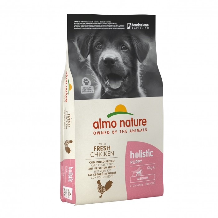 Alimentation pour chien - Almo Nature Holistic Medium Puppy pour chiens