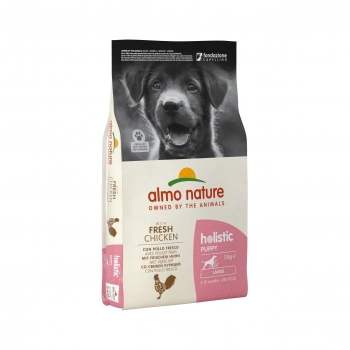 Alimentation pour chien - Almo Nature Holistic Large Puppy pour chiens