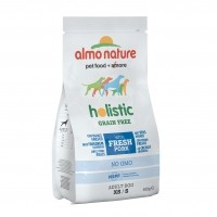 Croquettes pour chiens  - ALMO NATURE  Holistic Grain Free Small Adult Dog