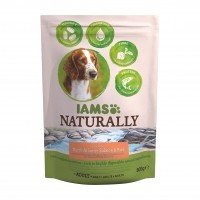 Croquettes pour chien - IAMS Naturally Adulte - Saumon Atlantique Nord Naturally Adulte - Saumon Atlantique Nord