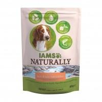 Croquettes pour chien - IAMS Naturally Adulte - Saumon Atlantique Nord