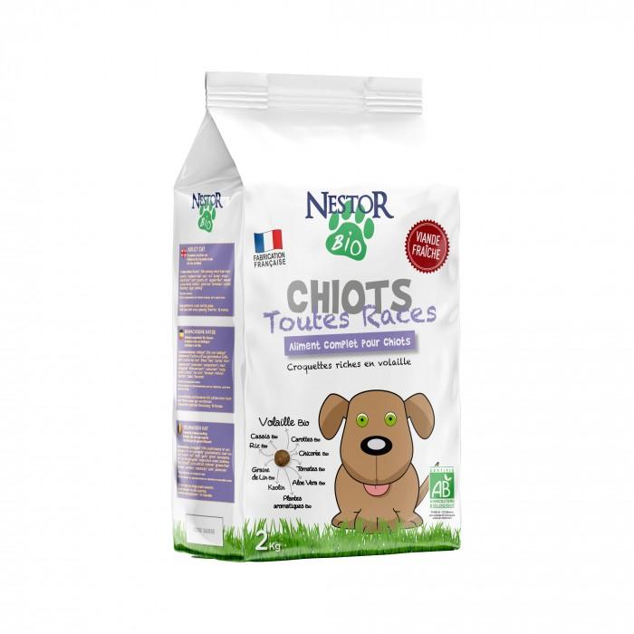 Alimentation pour chien - Nestor Bio Chiot Toutes Races pour chiens