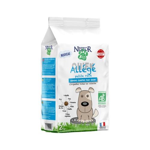 Alimentation pour chien - Nestor Bio Adulte Petite Race - Recette allégée pour chiens