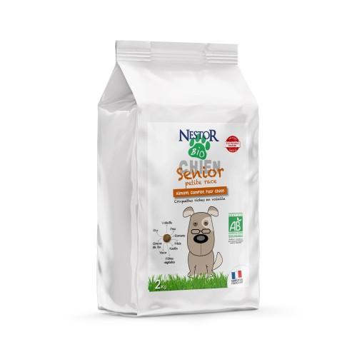 Alimentation pour chien - Nestor Bio Senior Petite Race pour chiens