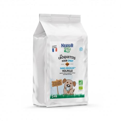 Alimentation pour chien - Nestor Bio Chiot Toutes Races Sans Céréales pour chiens