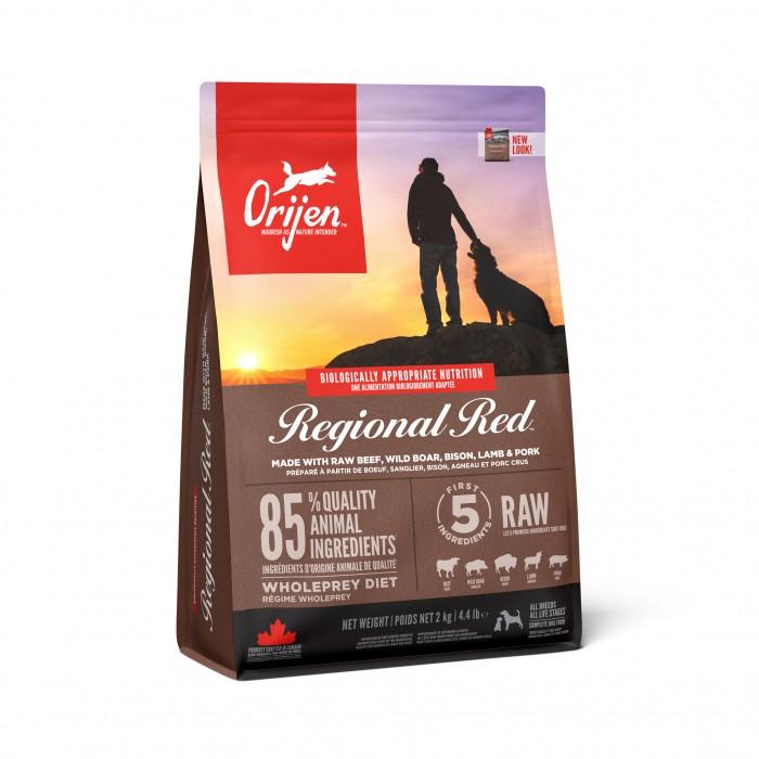 Alimentation pour chien - Orijen Regional Red pour chiens