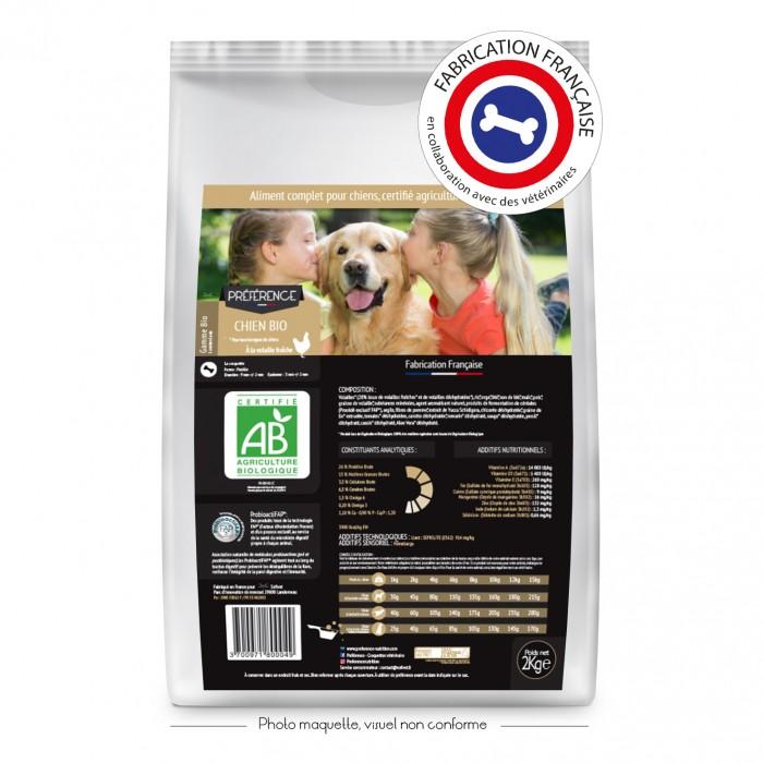 Alimentation pour chien - PRÉFÉRENCE BIO Chien pour chiens