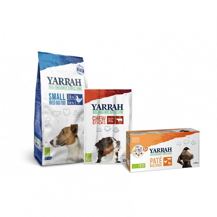 Alimentation pour chien - Yarrah, Pack découverte pour les petits chiens pour chiens