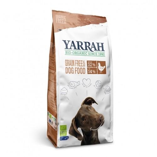 Alimentation pour chien - Yarrah Croquettes biologiques sans céréales pour chiens