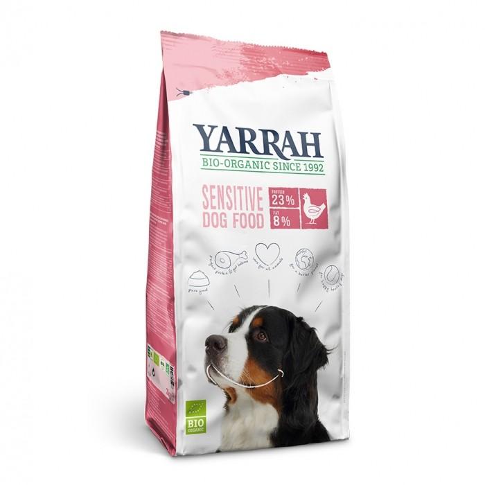 Alimentation pour chien - Yarrah Croquettes biologiques pour chien sensible pour chiens