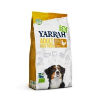 Croquettes pour chien - Yarrah Croquettes bio au poulet pour chien adulte Croquettes bio au poulet pour chien adulte