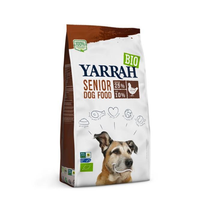 Alimentation pour chien - Yarrah Croquettes biologiques pour chien senior pour chiens
