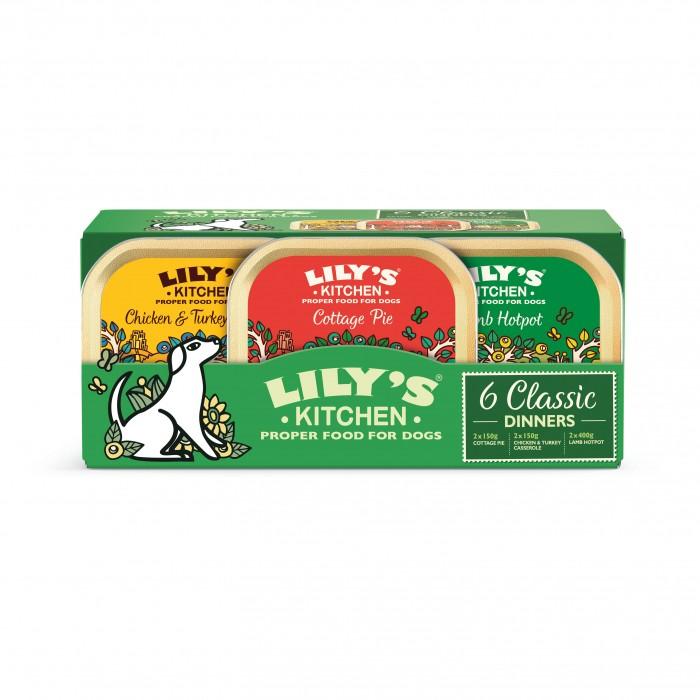 Alimentation pour chien - Multipack Pâtée Adulte Sans Céréales - Classic Dinners pour chiens