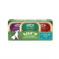 Pâtée pour chien - Multipack Pâtée Adulte Sans Céréales - World Dishes Lily's Kitchen