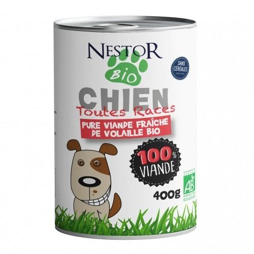 Alimentation pour chien - Nestor Bio pour chiens
