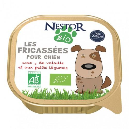 Alimentation pour chien - Nestor Bio Les fricassées pour chien pour chiens