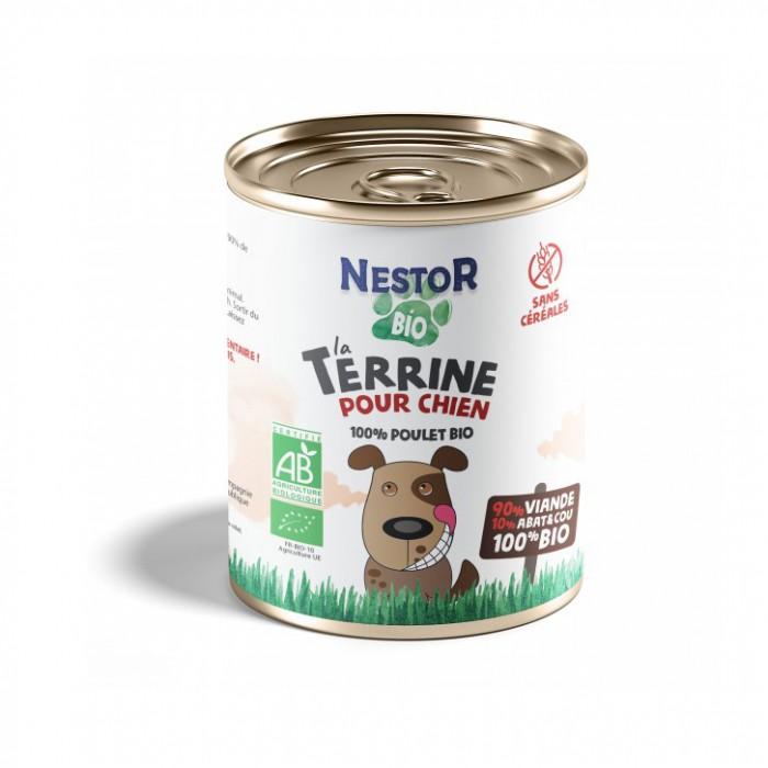 Alimentation pour chien - Nestor Bio 100% viande CHIEN pour chiens