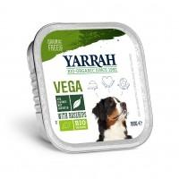 Pâtée en barquette pour chien - Yarrah Bouchées vegan - Lot de 12 x 150g