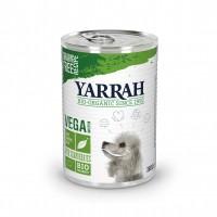 Pâtée en boîte pour chien - Yarrah Bouchées vegan - Lot de 12 x 380 g