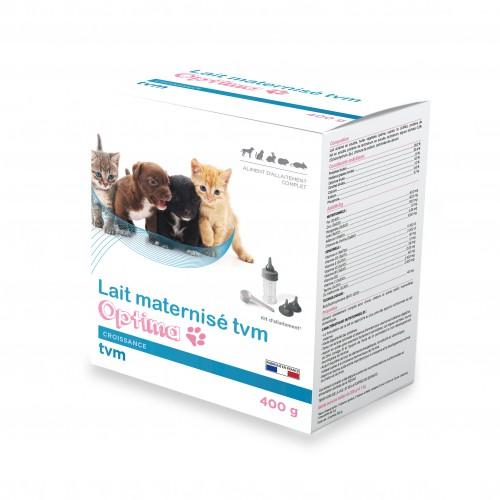 Alimentation pour chien - Lait maternisé Optima pour chiens