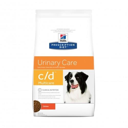 Prescription - HILL'S Prescription Diet Canine c/d devient Canine c/d multicare