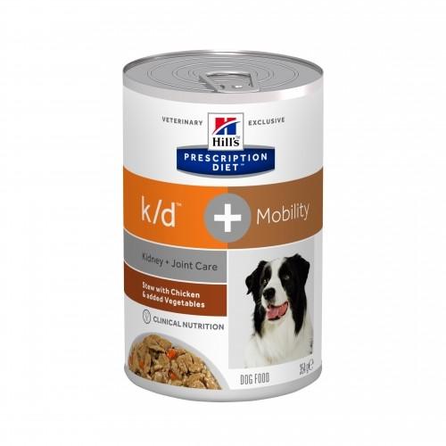 Alimentation pour chien - HILL'S Prescription Diet k/d + Mobility Canine Mijoté pour chiens